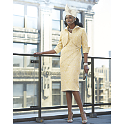 annetta hat and tay skirt suit