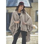 ruffled shawl 268