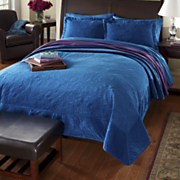 Westminster Velvet Quilts and Shams