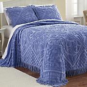 kate chenille bedspread sham