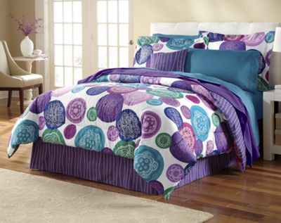 Jewel Festival Comforter Set and Window Treatments