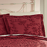 french country chenille sham