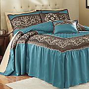 Tuscany Bedspread Set, Decorative Pillows and Window Treatments
