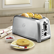 oster 4 slice stainless steel toaster