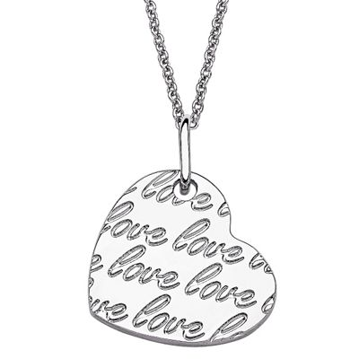 Lots of 'Love' Heart Necklace