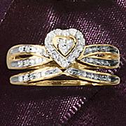 heart bridal set 166