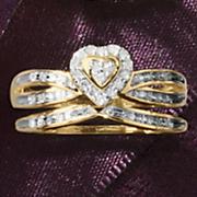 Heart Bridal Set