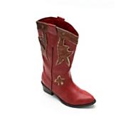 Montgomery Ward Freshica Red Cowgirl Boot