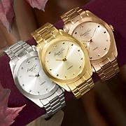 kenneth cole new york unisex round bracelet watch