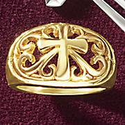 cross band ring
