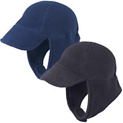 cozy cub polar fleece stayput hat