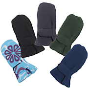 Cozy Cub Thumbless Polar Fleece Baby Mittens