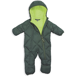 Cozy Cub Packable Down Bunting Hunter Lime