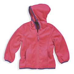 Cozy Cub Minky Fleece Jacket Girls