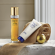 white diamonds and sapphires gift set by elizabeth taylor