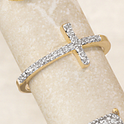 diamond cross ring 1 21