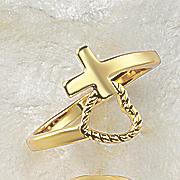 cross heart band