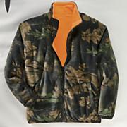 trailcrest reversible fleece jacket