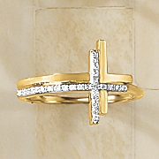 diamond cross ring 2