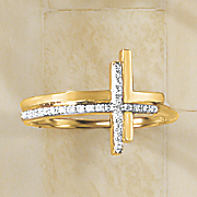 diamond cross ring 2