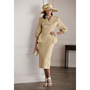 Bessie Hat and Skirt Suit
