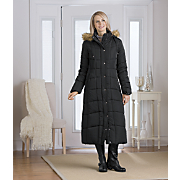 long quilted coat 110