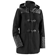 imogen wool blend toggle coat