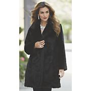 faux persian lamb coat