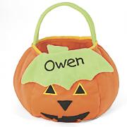 Toddler Pumpkin Treat Bag