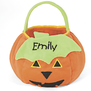 Personalized Kids Pumpkin Treat Bag