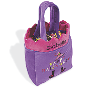 Personalized Girls Halloween Trick or Treat Bag