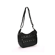 silver city studded leather handbag