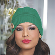knit button hat