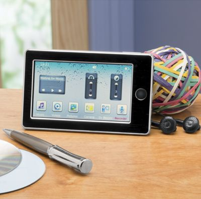 8 GB Touchscreen MP3 Player by Electro Brand