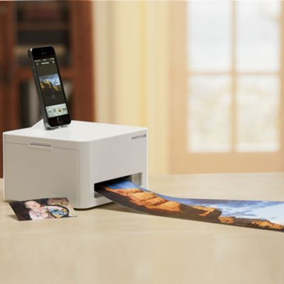VuPoint Photo Cube Compact Photo Printer & Standard Refill Cartridge