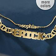 Name Cutout Bracelet
