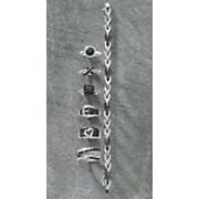 black diamond fancy link bracelet
