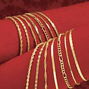 14 pc chain necklace bracelet set