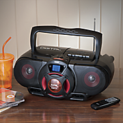 mp3 cd bass reflex boombox by naxa