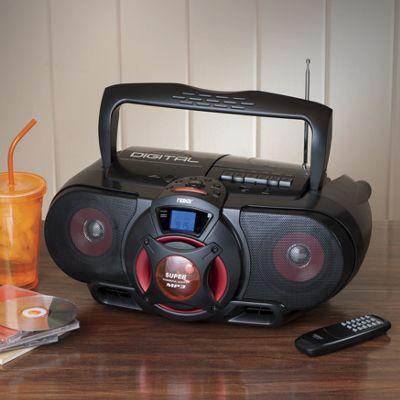 MP3/CD Bass Reflex Boombox by Naxa
