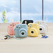 instax mini 8 camera and instant film by fujifilm