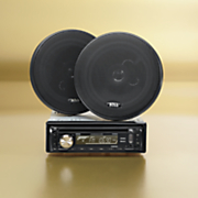 Boss MP3-Compatible, CD, Radio Receiver & Speaker System