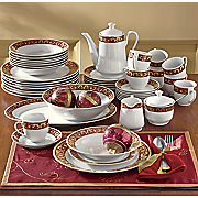 47-Piece Renaissance Dinnerware Set