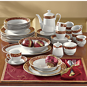 47-Piece Renaissance Dinnerware Set