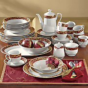 47 piece renaissance dinnerware set