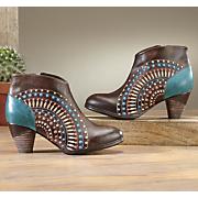 rhapsody bootie by spring footwear