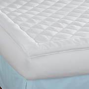300 thread count diamond quilted topper