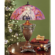 Hand-Painted St. Bernadette Table Lamp
