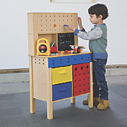 Toy Wooden Work Bench