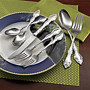 50 piece mikayla flatware set